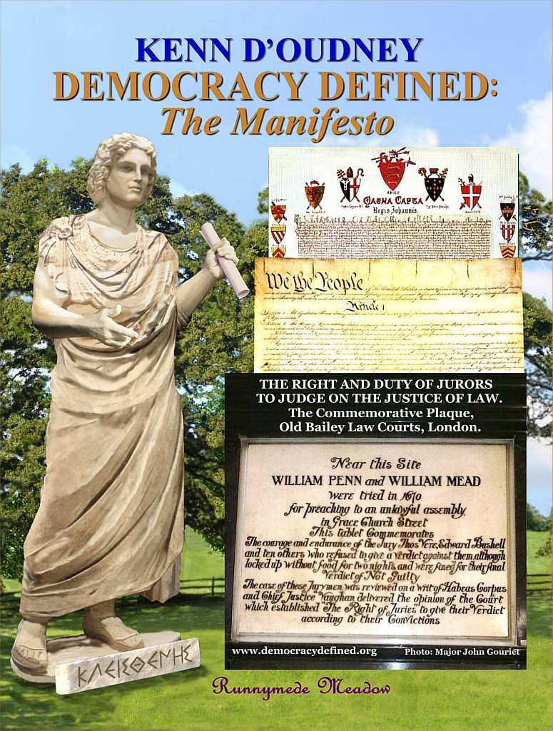 DEMOCRACY DEFINED: The Manifesto