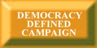 The DEMOCRACY DEFINED Campaign.